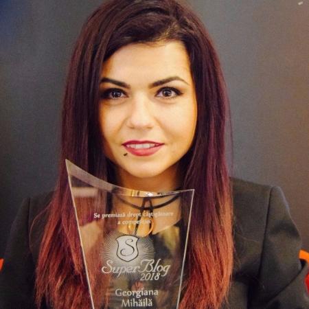 Georgiana Mihăilă – O poveste de succes în blogosfera românească și nu numai; Superblog